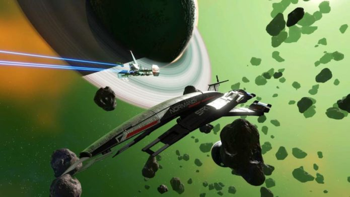 No Man's Sky players get a big Mass Effect Easter Egg, but it won't be around forever