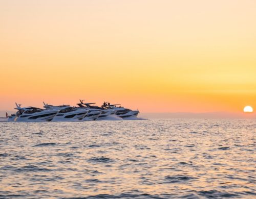 Sunseeker unveil five new yachts together for the first time