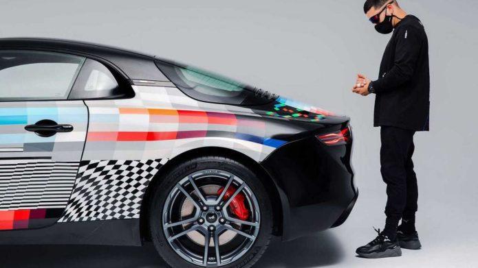 Alpine A110 x Felipe Pantone is an artist's canvass on wheels