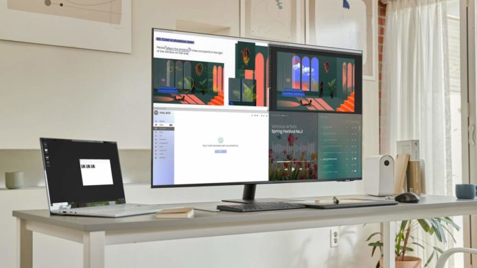Samsung Smart Monitors now have 43-inch UHD and 24-inch FHD options