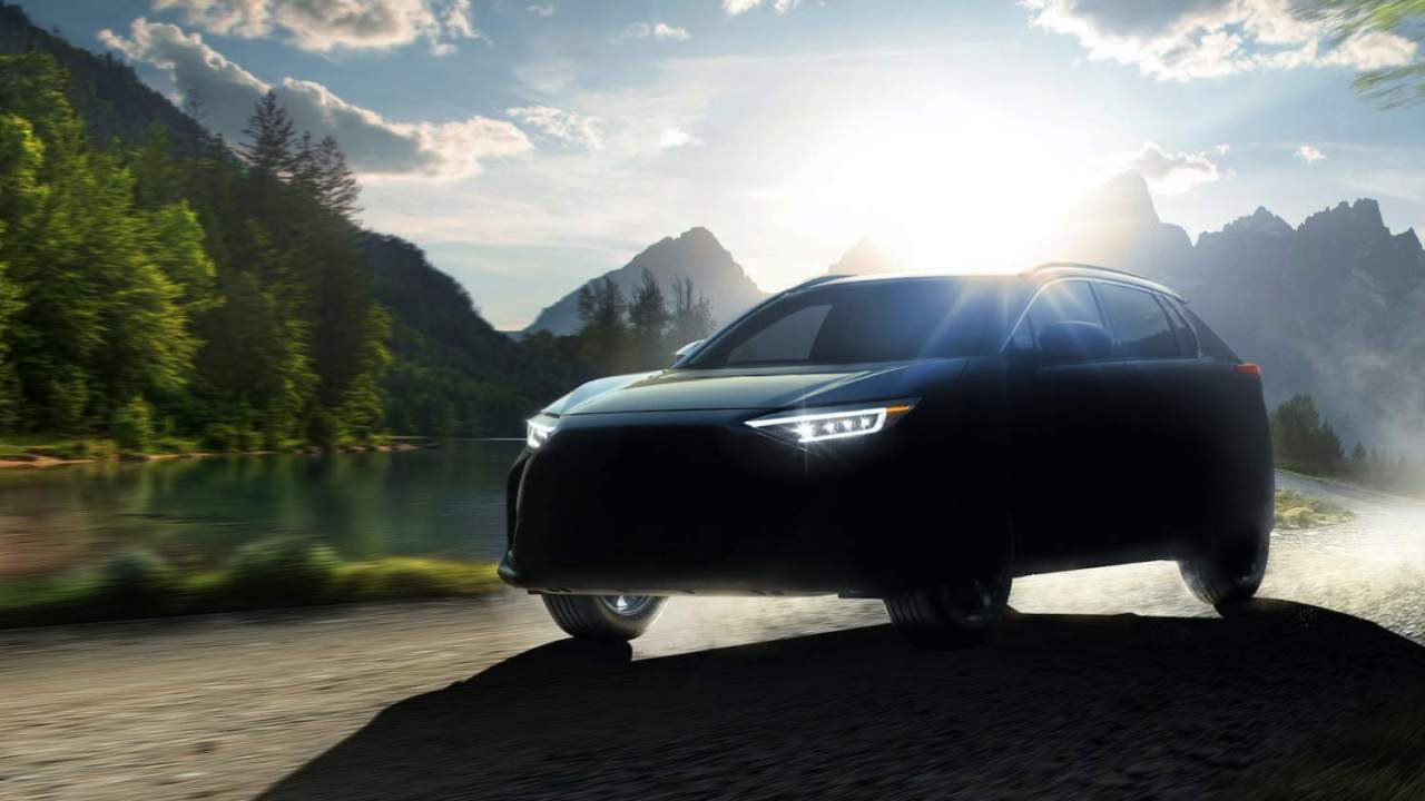 Subaru Solterra electric SUV confirmed as brand's first AWD EV