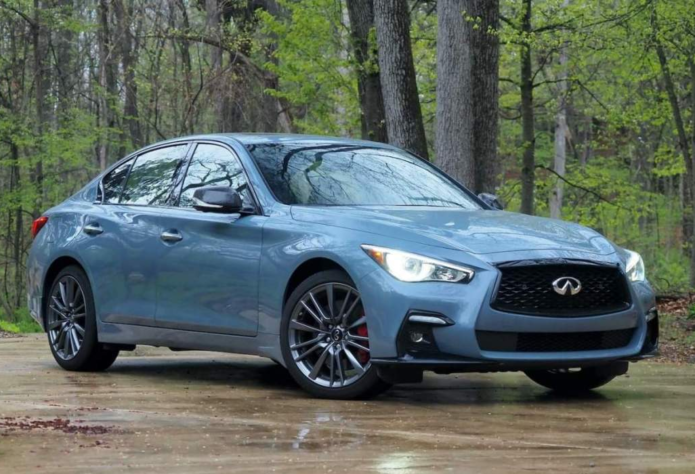 2021 Infiniti Q50 Red Sport 400 AWD Review: Too much and not enough