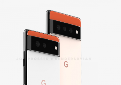 Google Pixel 6 and Pixel 6 Pro renders leak showing shocking new design