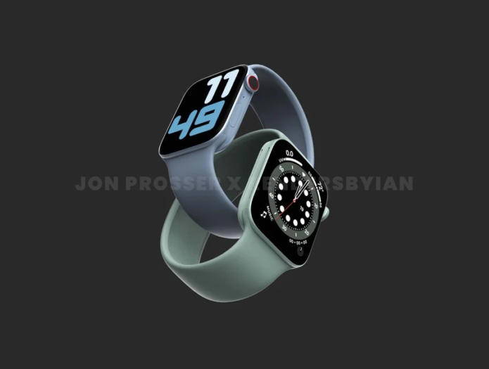Prosser: Apple Watch Series 7 to Feature Flat-Edged Design, New Green Color Option