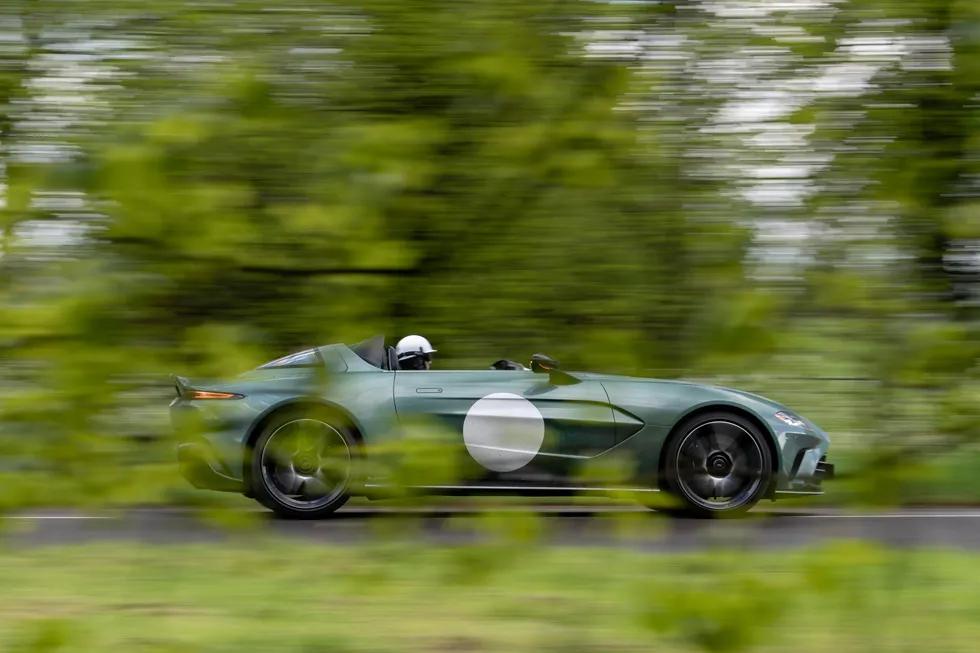 Elemental Motoring: 2021 Aston Martin V12 Speedster