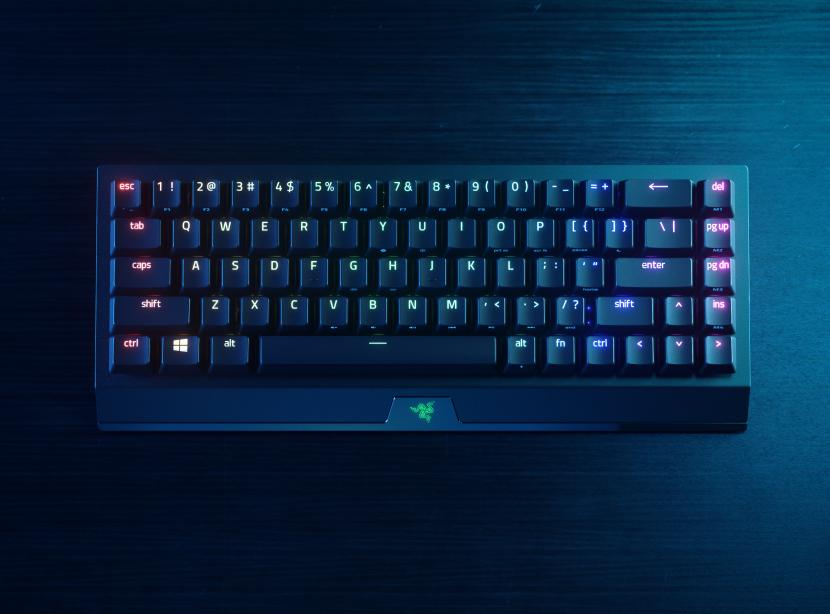 Razer's shrunk the Blackwidow V3 gaming keyboard