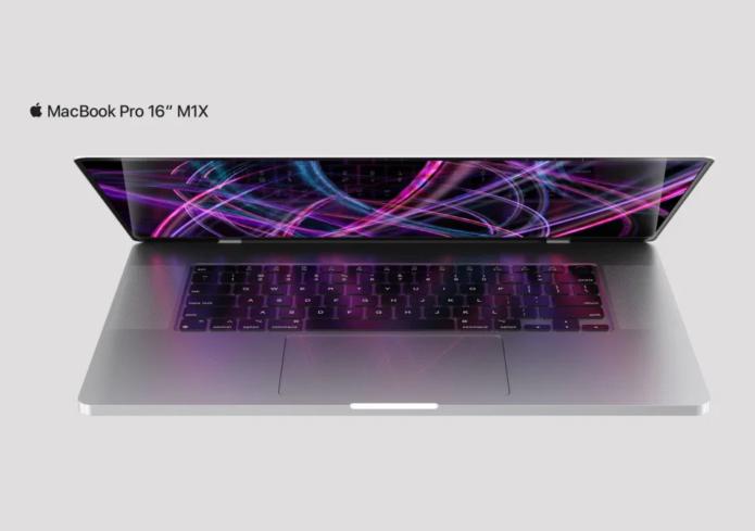 Concept renders show the next Apple MacBook Pro 16's presumed design