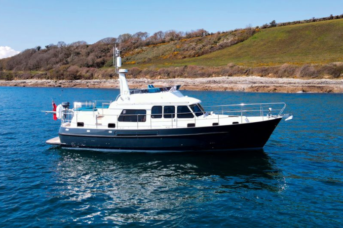 Hardy 42 hybrid: Cockwells reinvents classic trawler as diesel-electric cruiser
