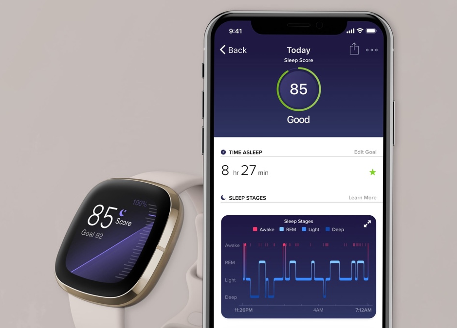 Upcoming Fitbit sleep tracking update adds snoring detection