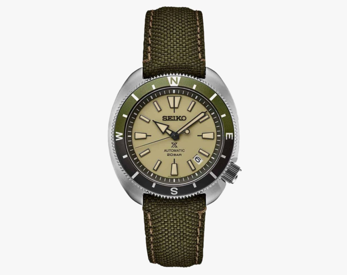 Seiko's Famous 'Turtle' Dive Watch Has Been Reimagined for Dry Land