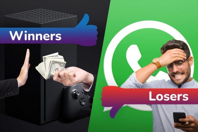 Winners and Losers: Xbox attacks scalpers, while WhatsApp hits a massive roadblock