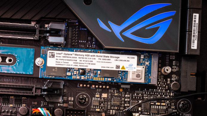 Intel Optane Memory H20 M.2 NVMe SSD Review