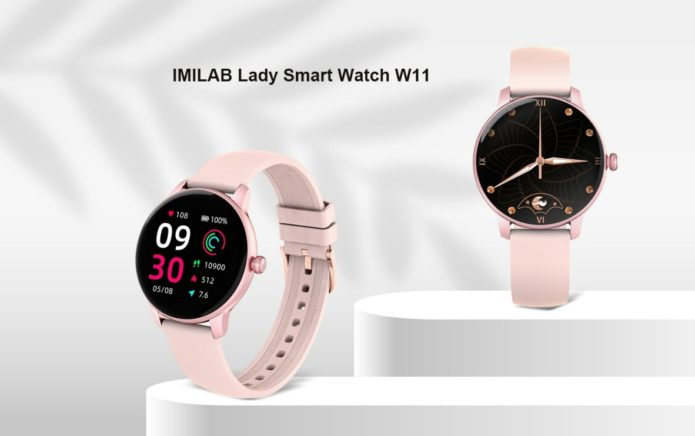 Xiaomi IMILAB W11 a Versatile All-in-One Lady Smartwatch Launched