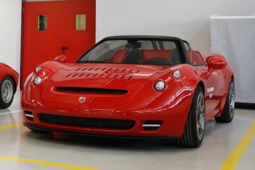 Wild one-off Abarth 1000SP unleashed
