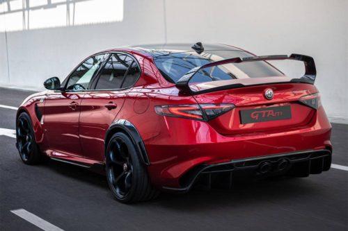 Red-hot Alfa Romeo Giulia GTA priced