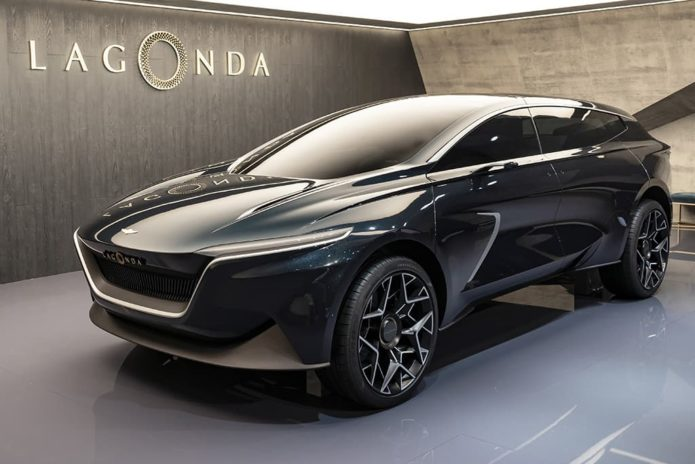 Aston Martin commits to Lagonda revival