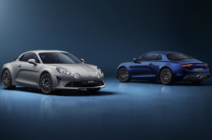 2021 Alpine A110 Legende GT is limited to 300 units in Europe