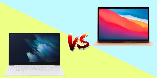 MacBook Air vs. Samsung Galaxy Book Pro: Here's what $999 buys for each