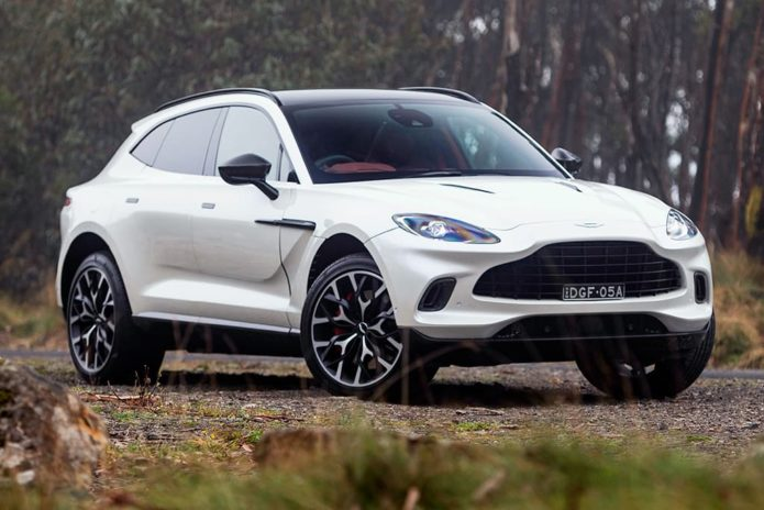 Stretched luxo Aston Martin DBX in the works