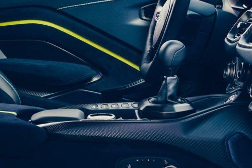 Aston Martin abandons manual gearbox