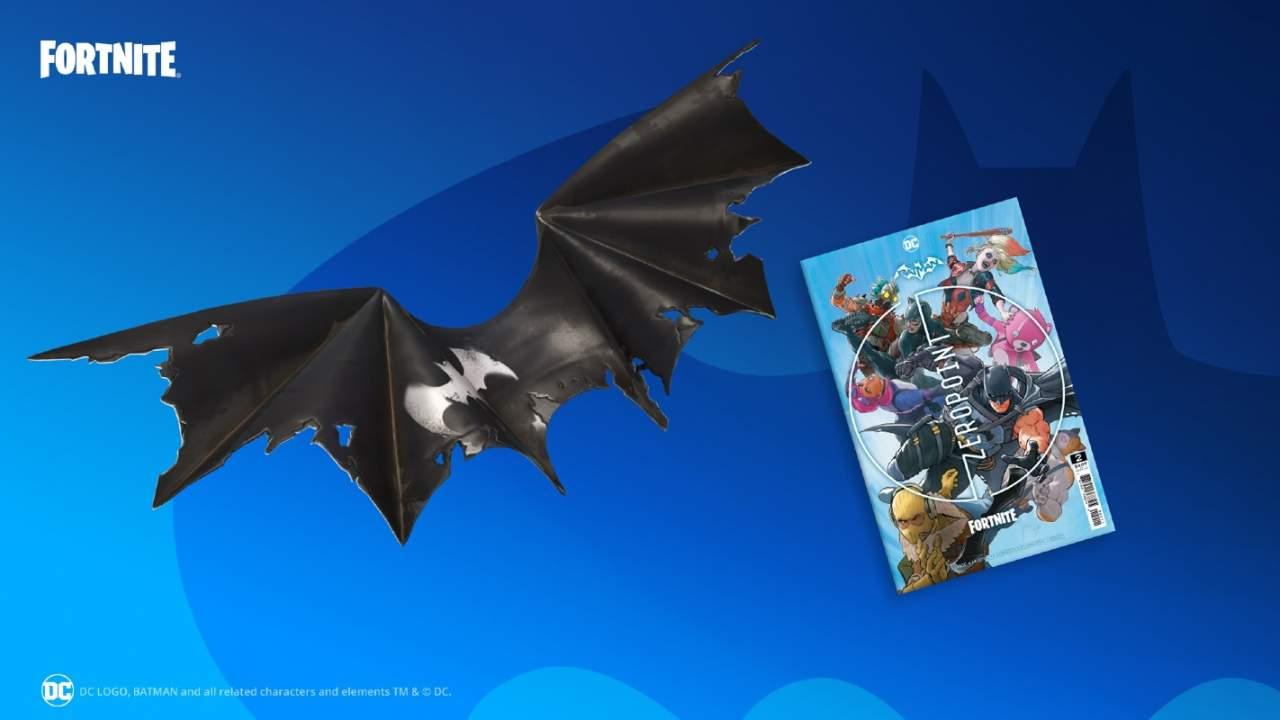 Batman/Fortnite: Zero Point Issue #2 arrives with Batman Zero Wing glider