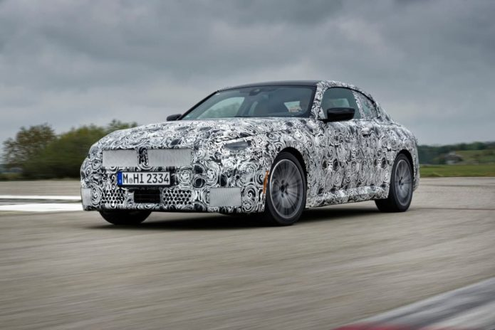 2021 BMW 2 Series Coupe officially previewed