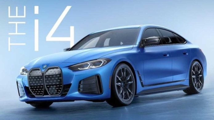 BMW i4 M50 Leaks Out As An M-Badged Electric Sedan