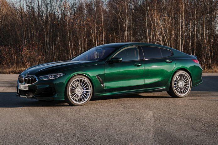 BMW Alpina B8 Gran Coupe priced