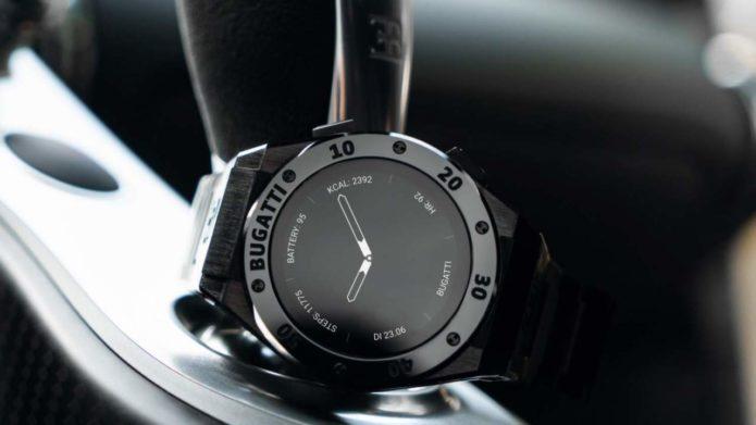 Bugatti made a smartwatch