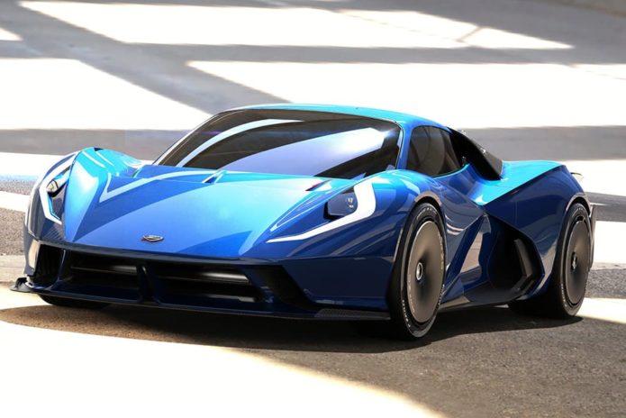 Electric Italian hypercar promises 1500kW