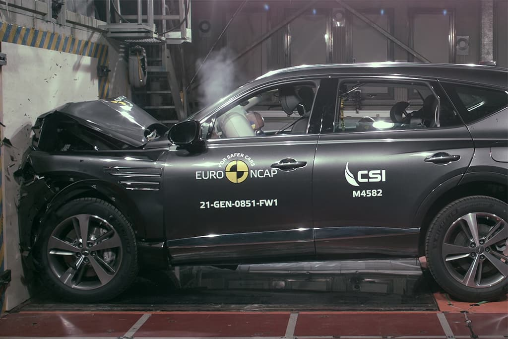 Five safety stars for Genesis G80 and GV80
