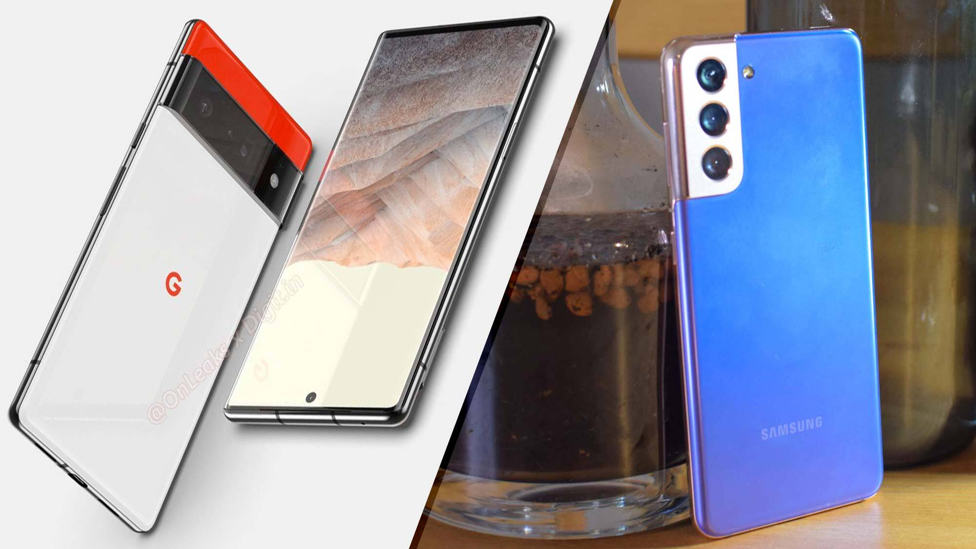 Google Pixel 6 vs. Samsung Galaxy S21: Which Android flagship will win?