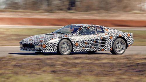 Restomod Ferrari Testarossa aims for 200 mph