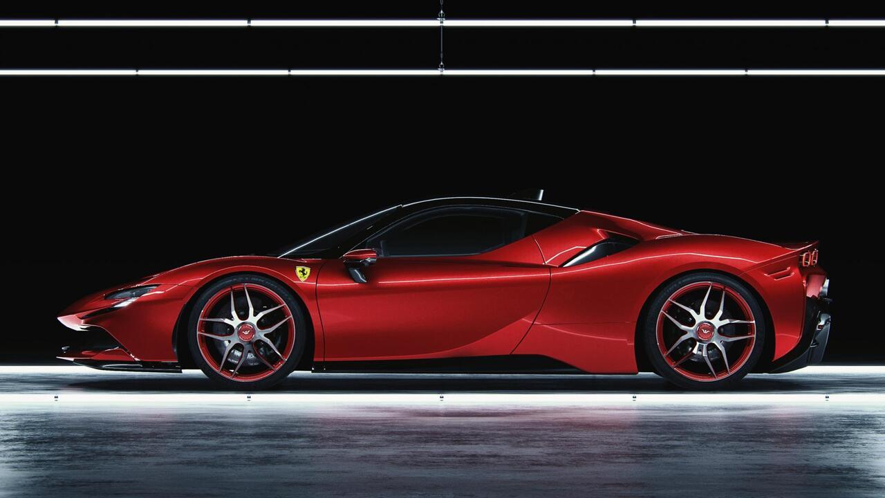 This Ferrari SF90 by Wheelsandmore has 1,102HP