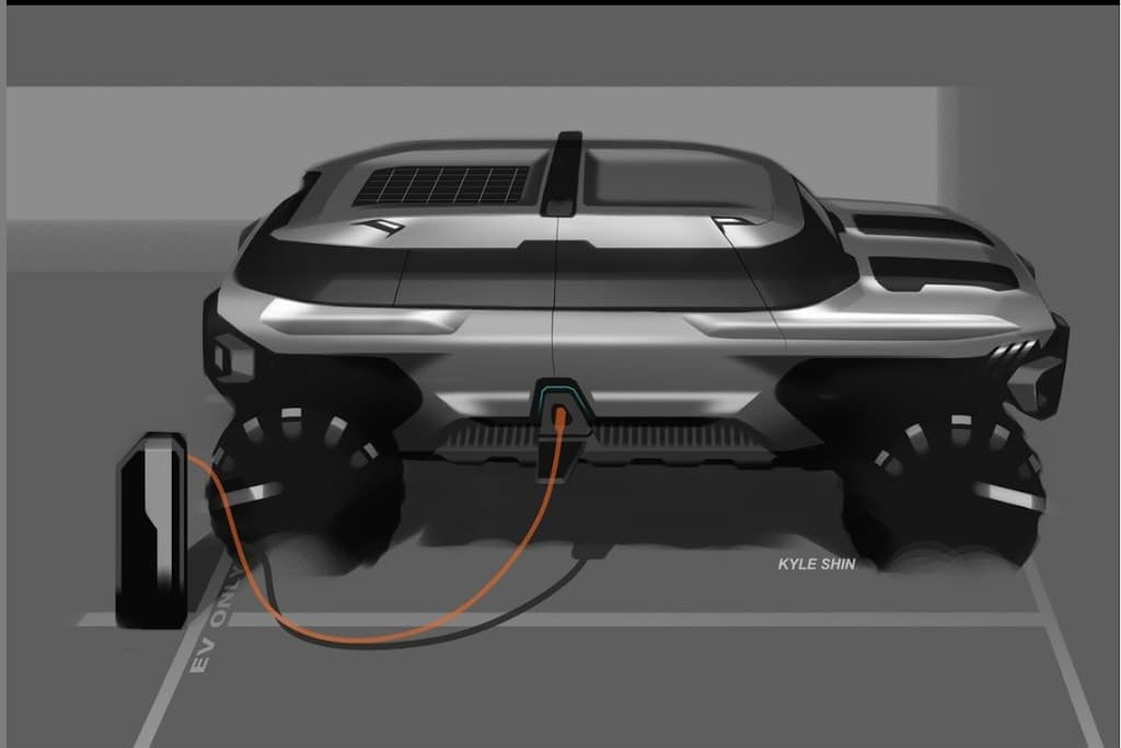 GM Design previews baby Hummer