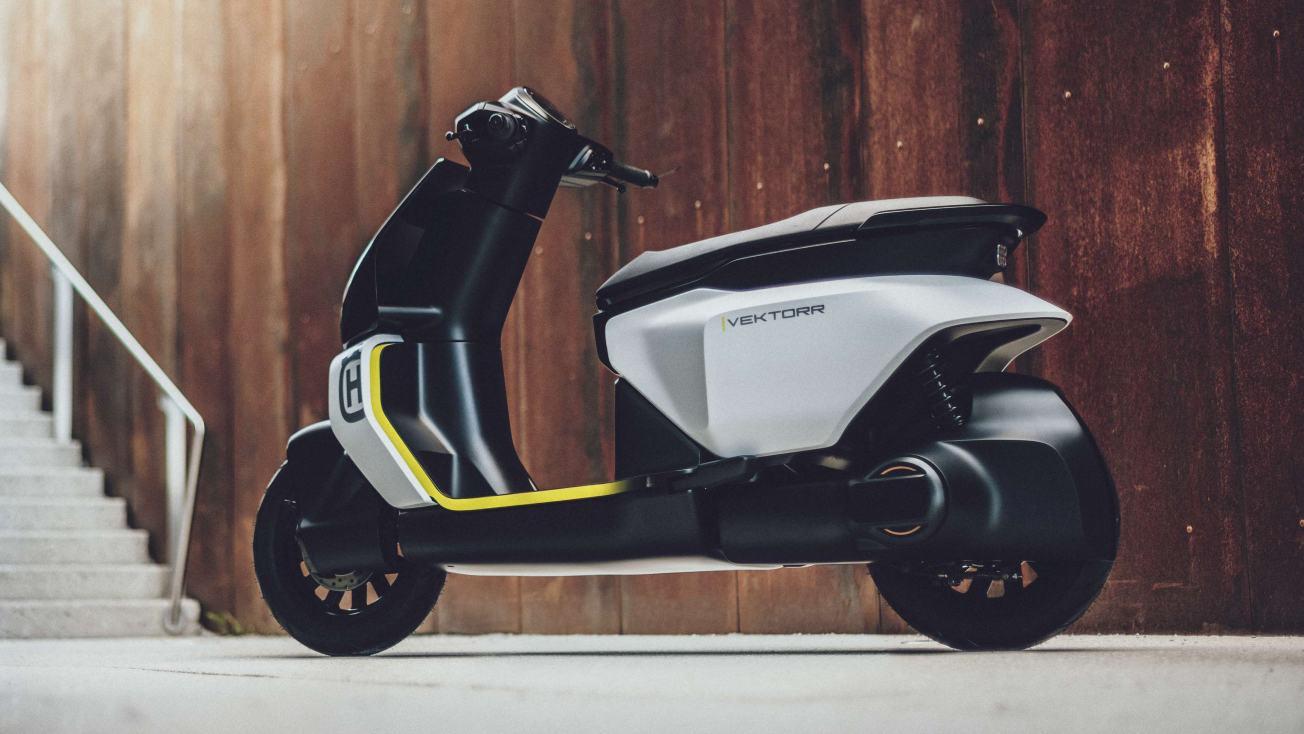 Husqvarna Reveals Vektorr Concept Electric Scooter