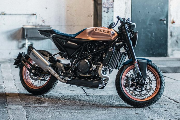 Husqvarna x Replay = Three Limited Edition 701 Motorcycles