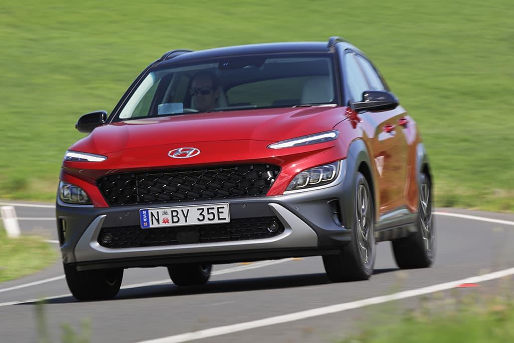 Hyundai Kona is Best Small SUV 2021