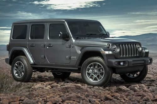 Jeep 80th Anniversary Special Editions released