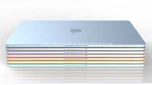 MacBook Air M2 renders give us our first look at the colourful new redesign