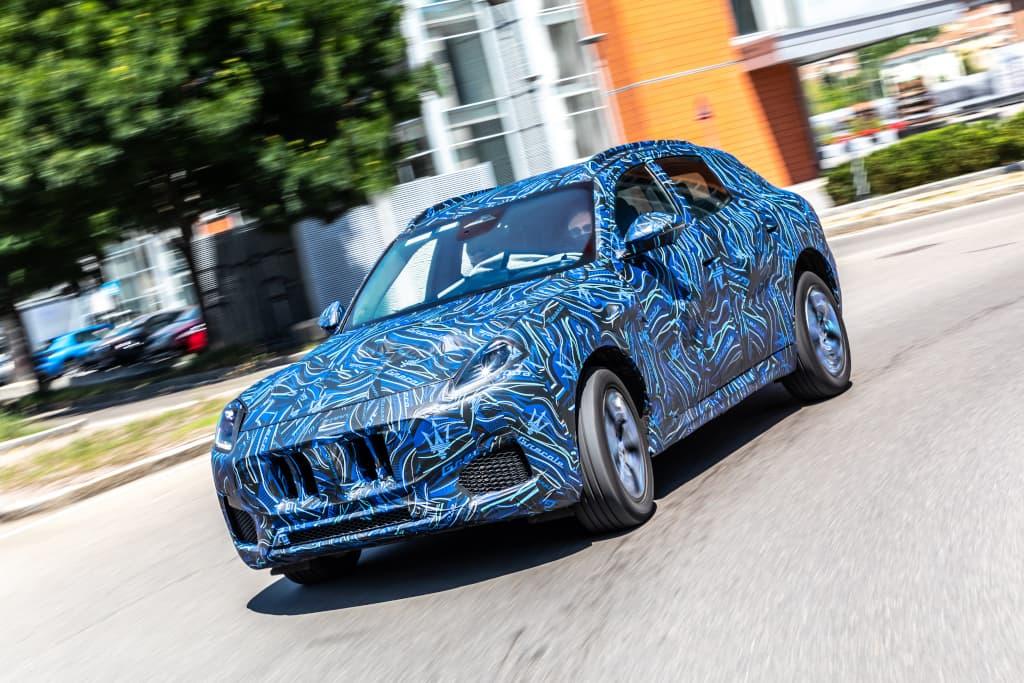 2022 Maserati Grecale shapes up