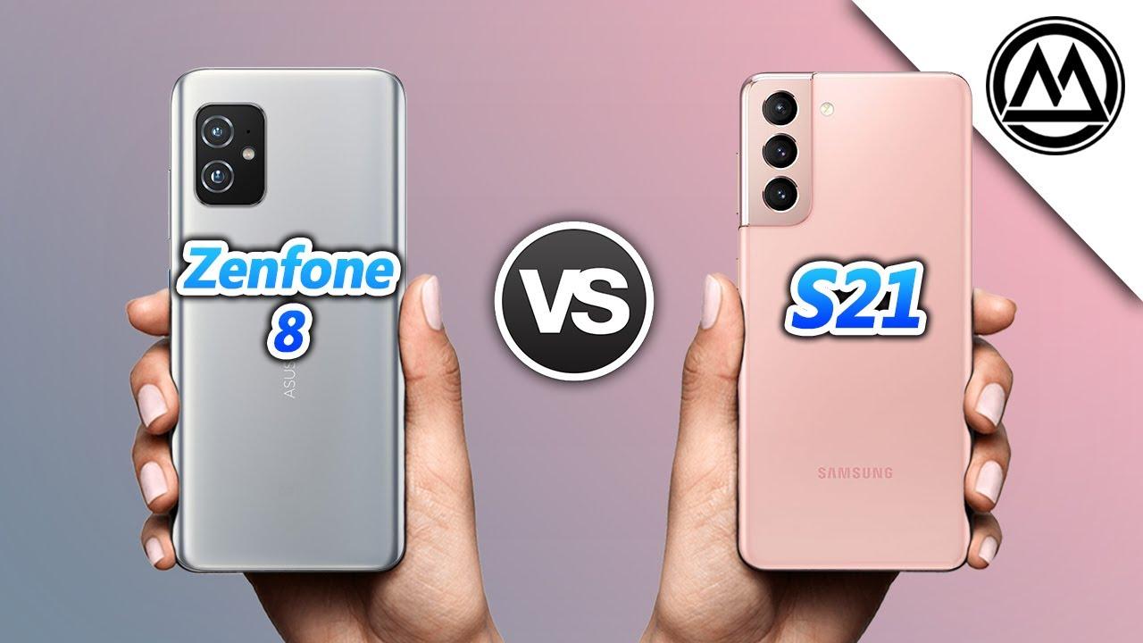Asus Zenfone 8 vs Samsung Galaxy S21