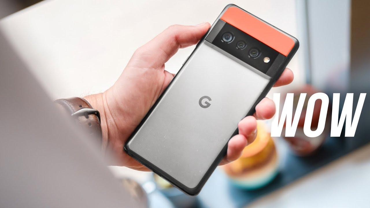 Google Pixel 6 Pro leak shows off new phone's design - who needs Google IO?