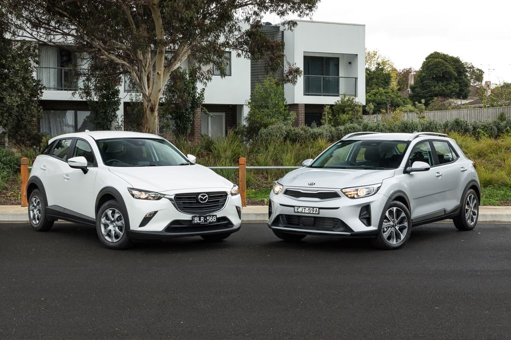 2021 Kia Stonic Sport v Mazda CX-3 Neo Sport Comparison