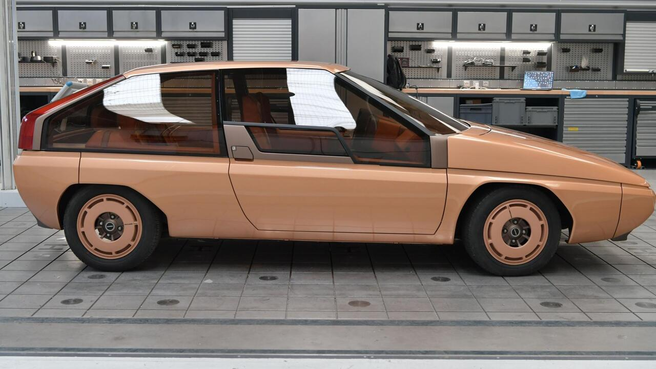 This fully-restored Mazda MX-81 Aria Concept previews a glorious past