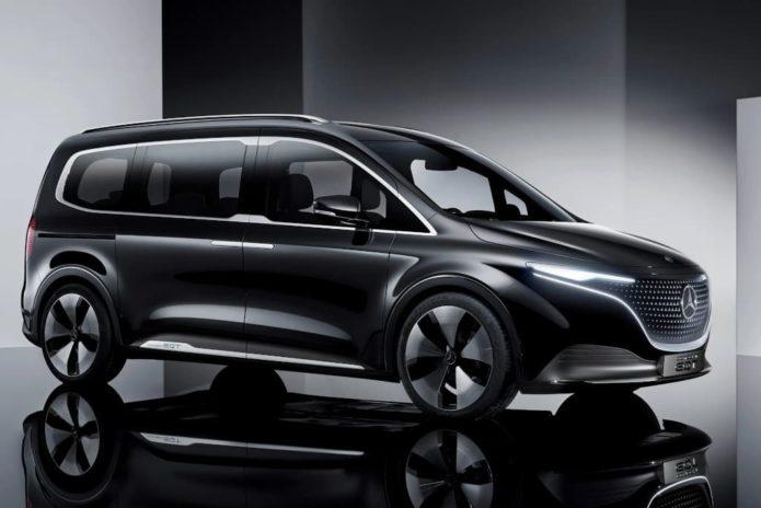 Electric Mercedes-Benz Concept EQT revealed