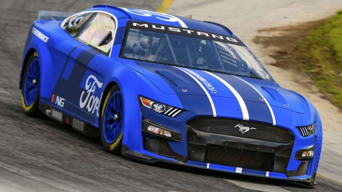 2022 Next Gen Mustang for NASCAR racing revealed
