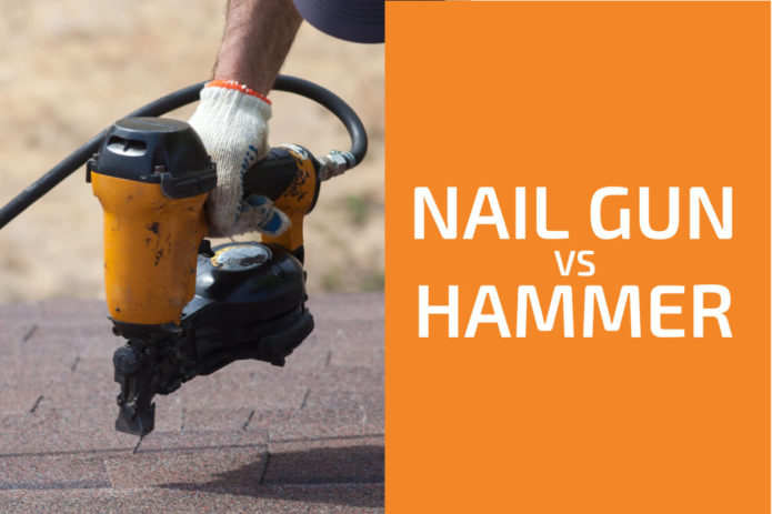 Nail Gun vs. Hammer: Which One to Use?