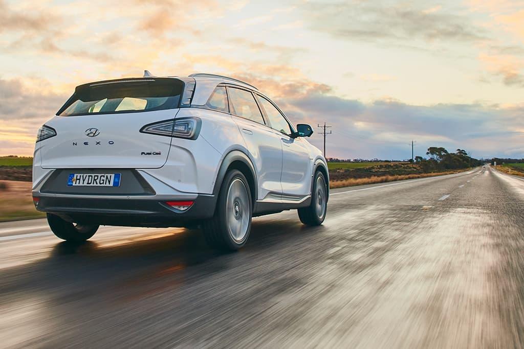 Hyundai NEXO breaks long-distance record – in Oz