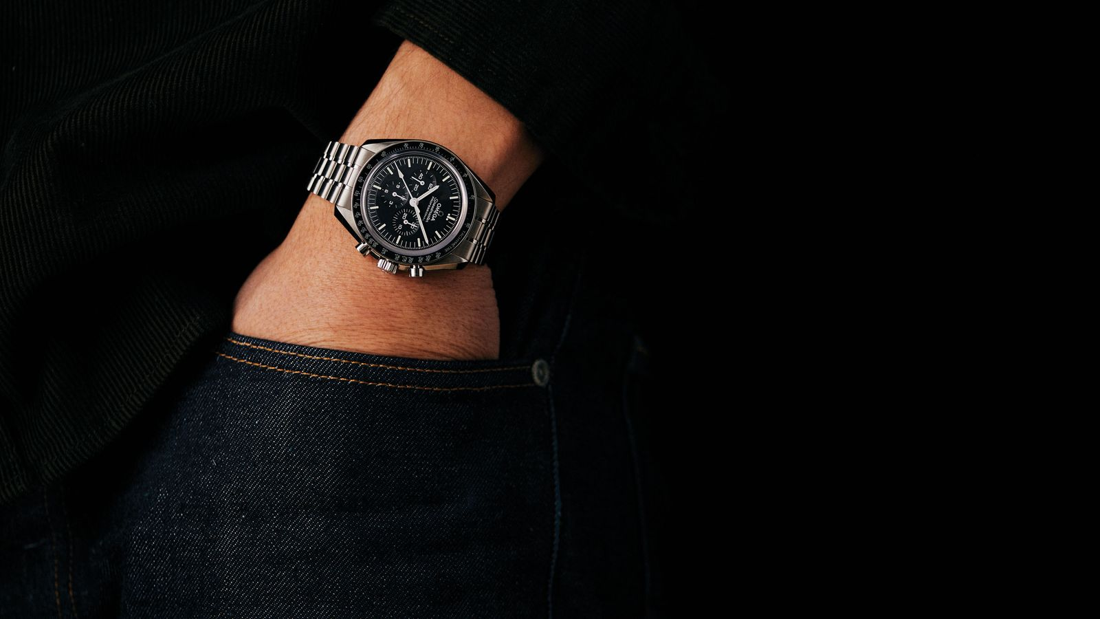 The Omega Speedmaster Moonwatch Professional Co-Axial Master Chronometer